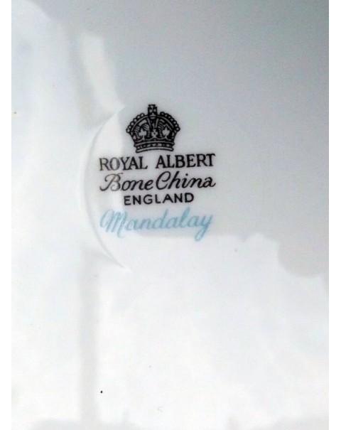 ROYAL ALBERT MANDALY TEA TRIO